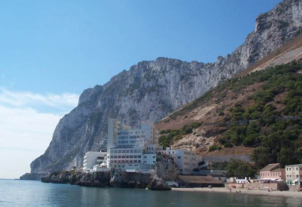 Caleta hotel and beach